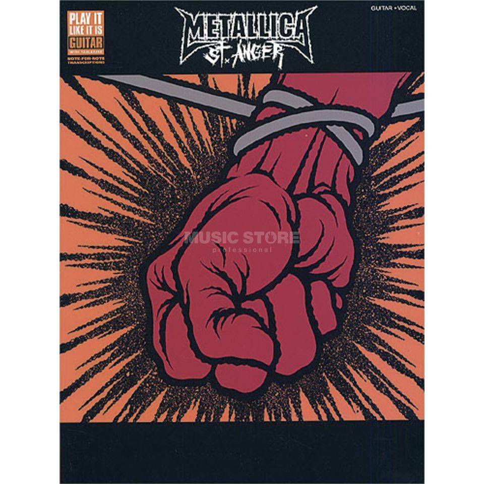 Wise Publications Metallica: St. Anger Produktbild