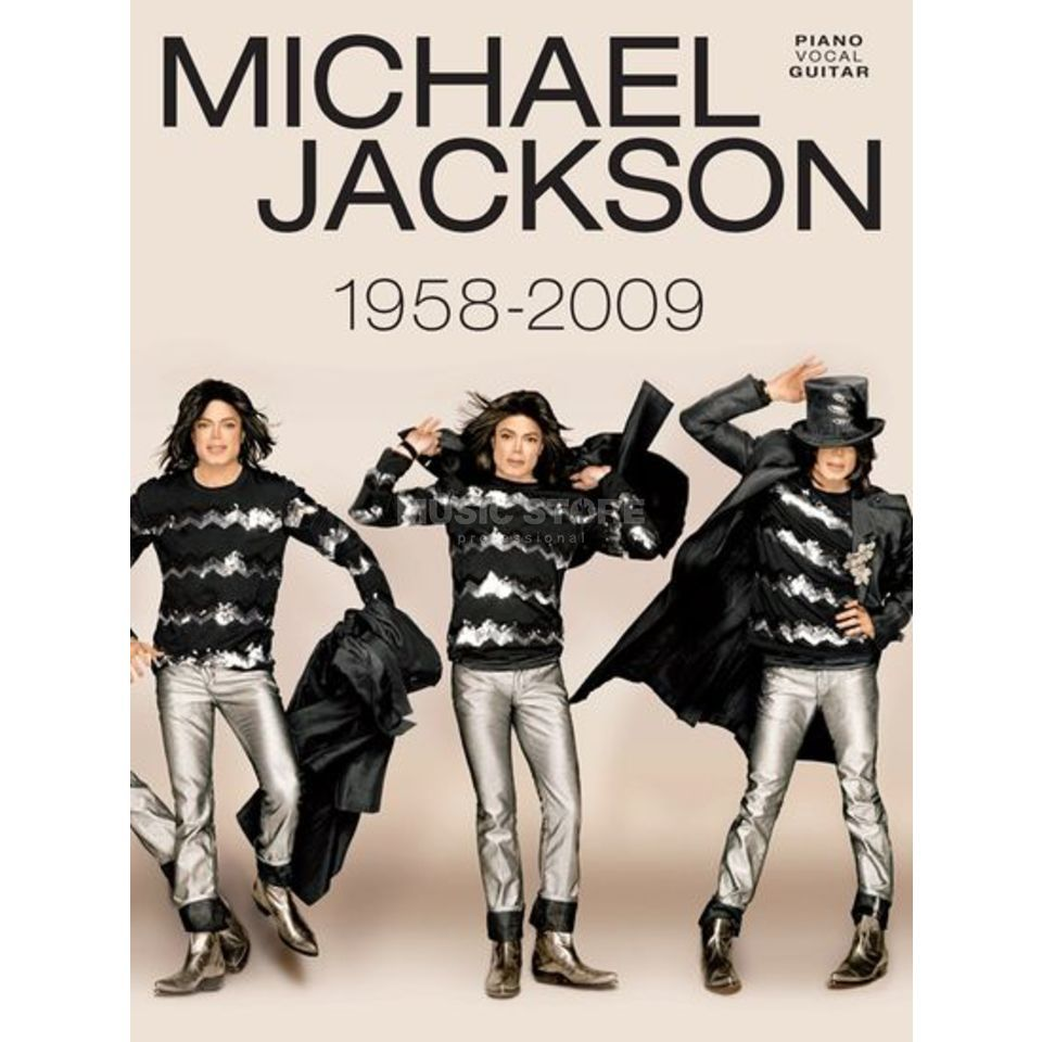 Wise Publications Michael Jackson - 1958 - 2009 PVG Produktbild