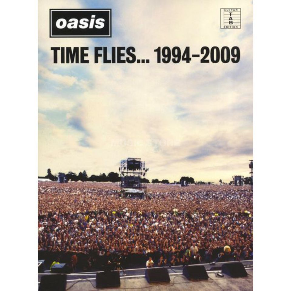 Wise Publications Oasis: Time Flies.. 1994 2009 TAB Produktbillede
