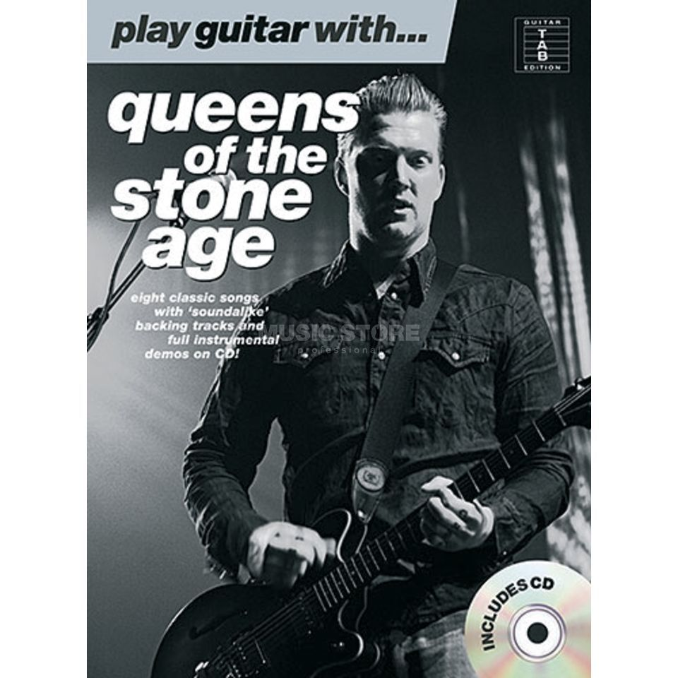 Wise Publications PGW Queens of the Stone Age TAB and Playalong CD Produktbillede