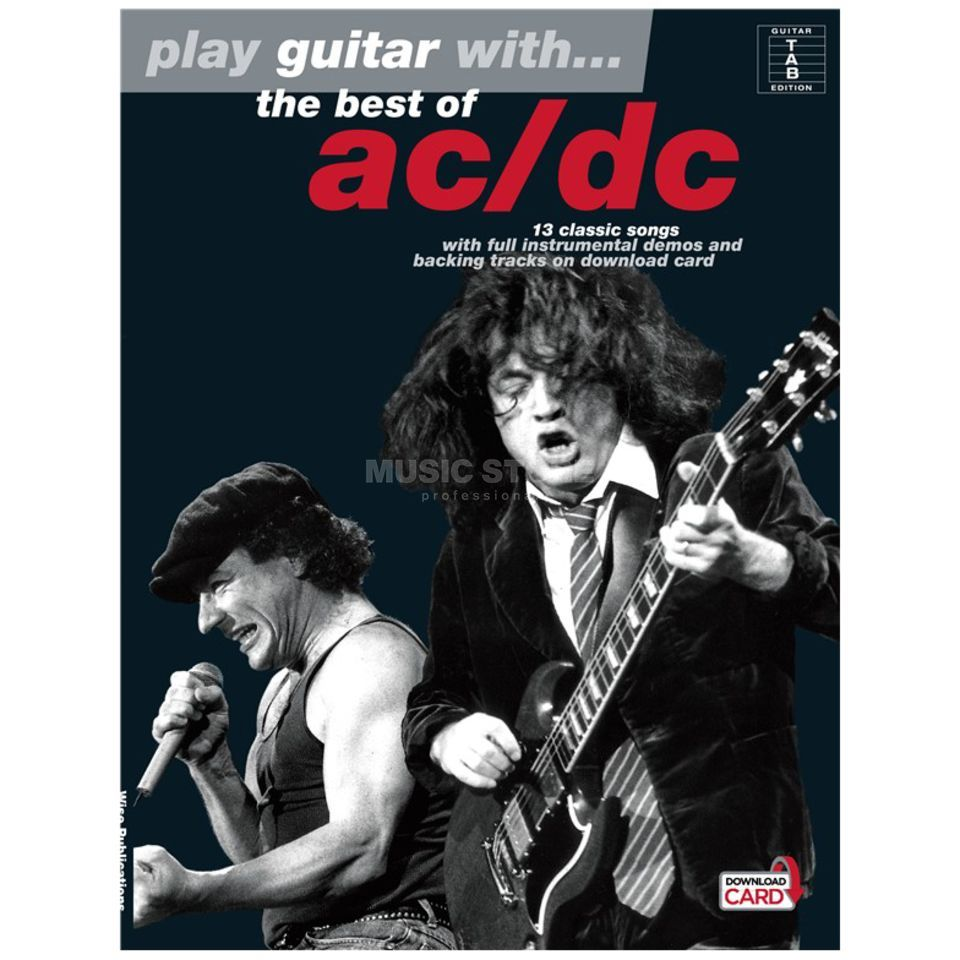 Wise Publications PGW the best of AC/DC TAB and Playalong CD Produktbillede