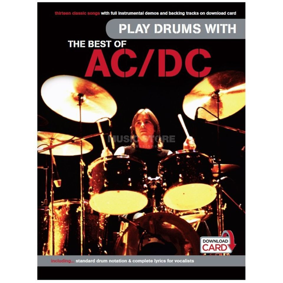 Wise Publications Play Drums With: AC/DC incl. Download Card Produktbillede