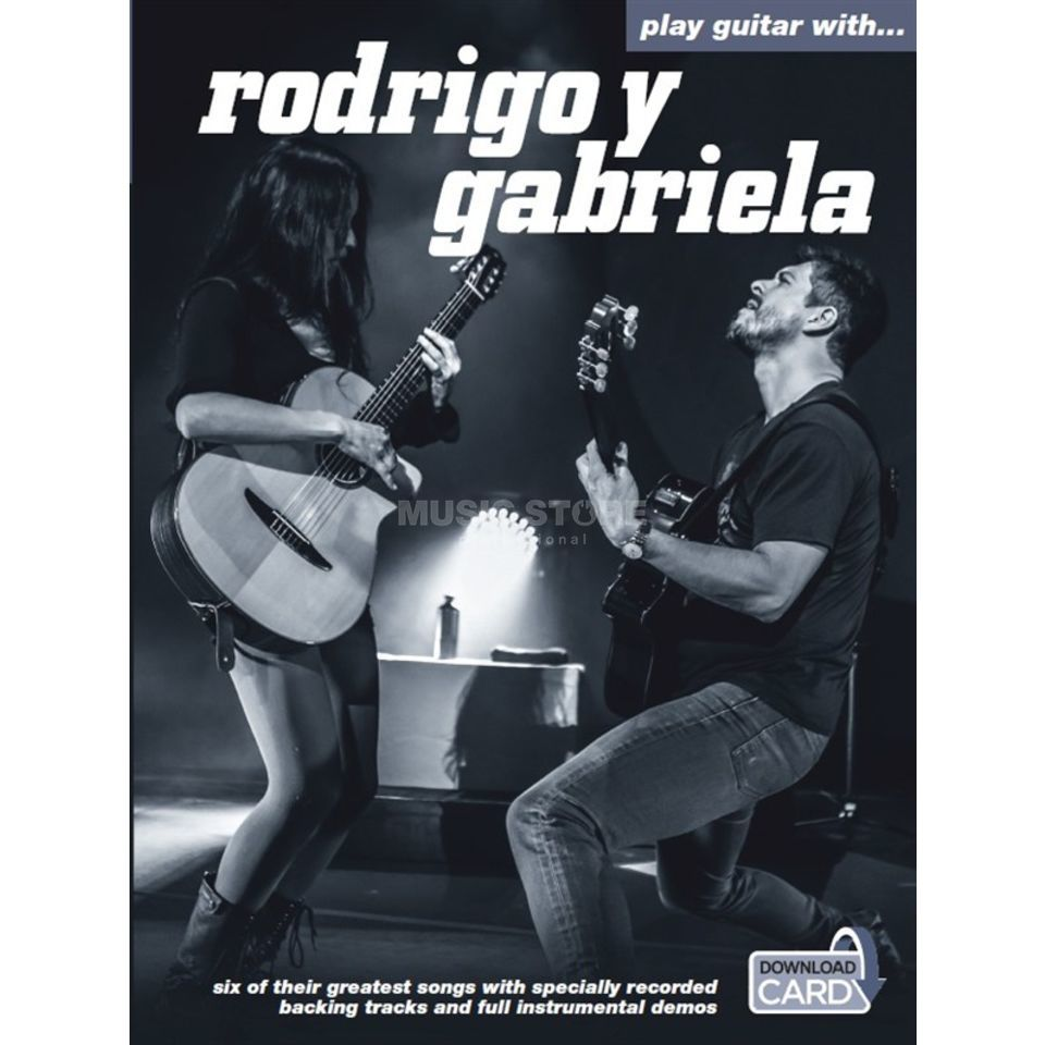 Wise Publications Play guitar with: R.Y Gabriela TAB/Download Card Produktbillede