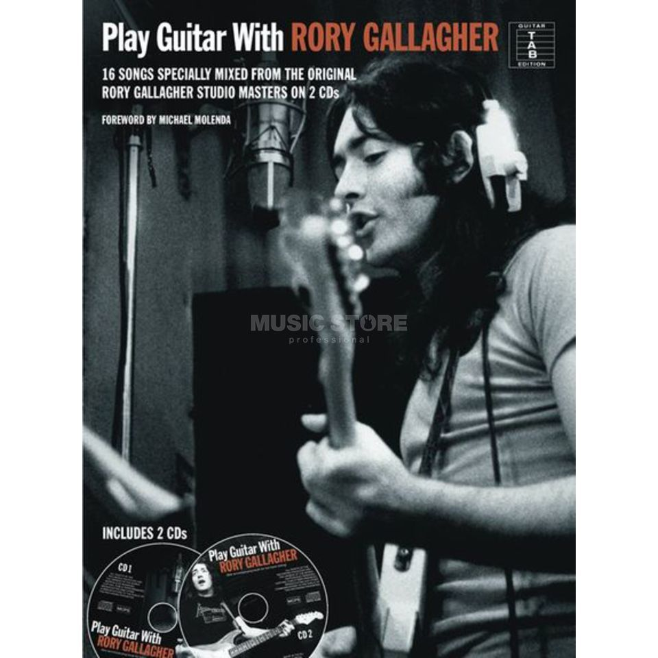 Wise Publications Play Guitar With Rory Gallagher Produktbillede