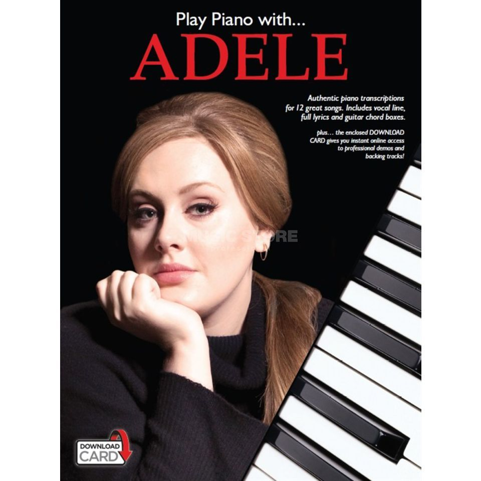 Wise Publications Play Piano With... Adele Produktbillede