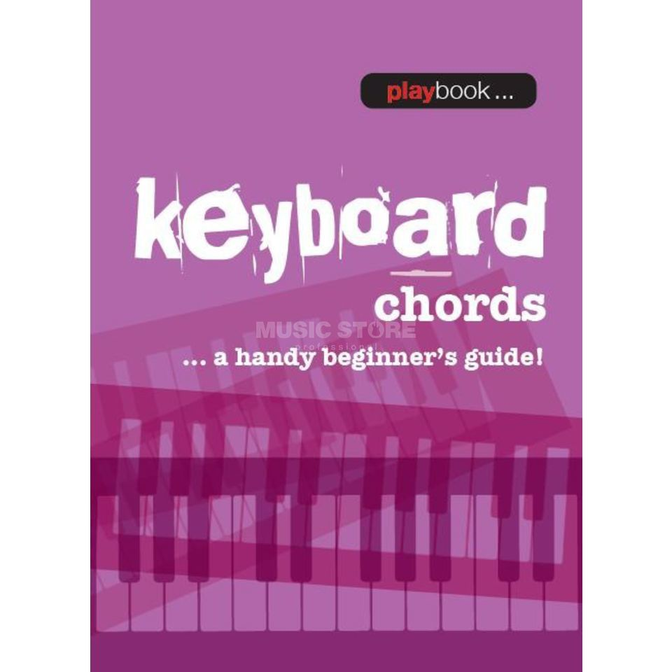 Wise Publications Playbook: Keyboard Chords A Handy Beginner's Guide! Produktbild