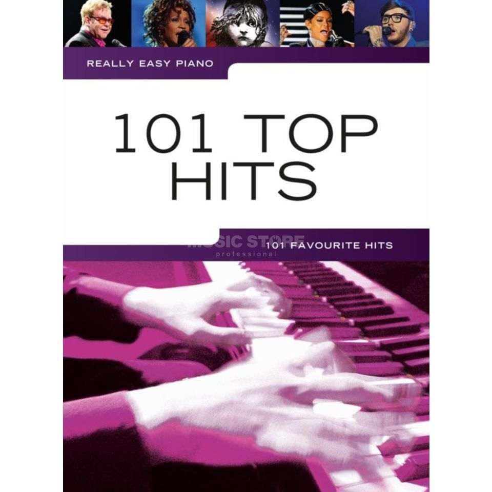 Wise Publications Really Easy Piano: 101 Top Hits Produktbillede