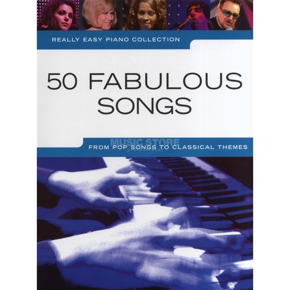 Wise Publications Really Easy Piano: 50 Fabulous Songs Produktbild