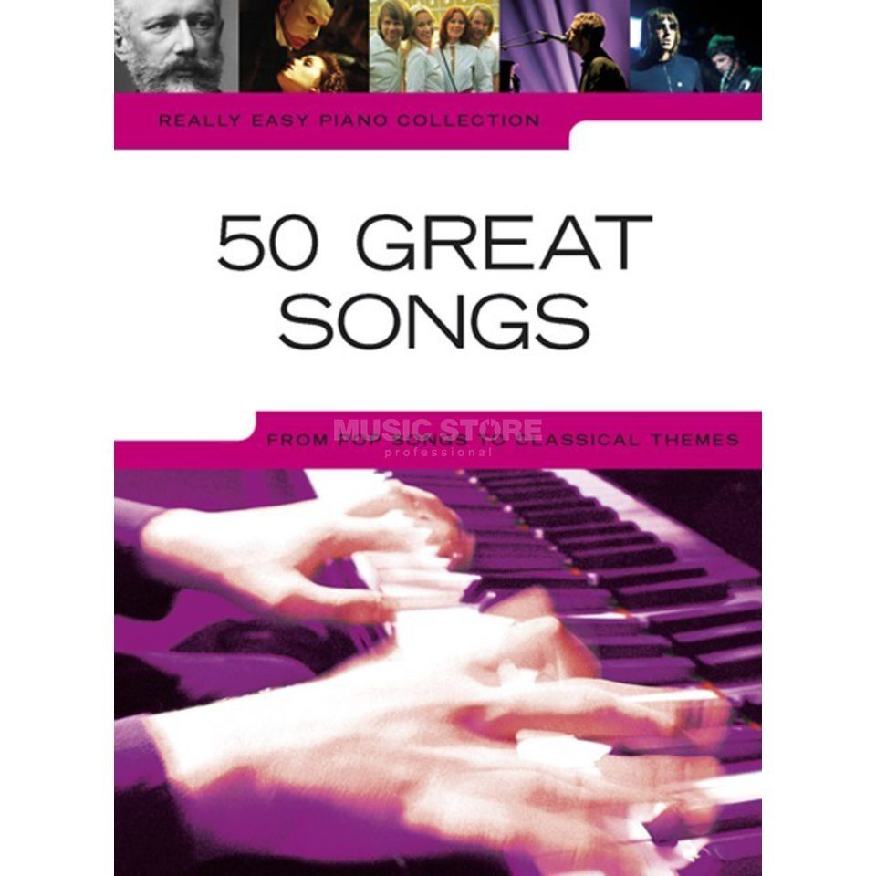 Wise Publications Really Easy Piano: 50 Great Songs Produktbild