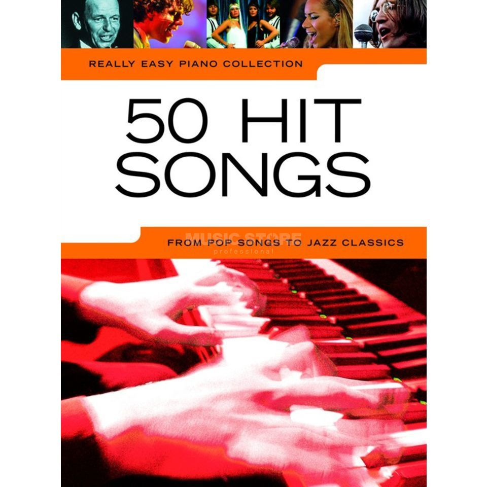 Wise Publications Really Easy Piano: 50 Hit Songs Produktbild