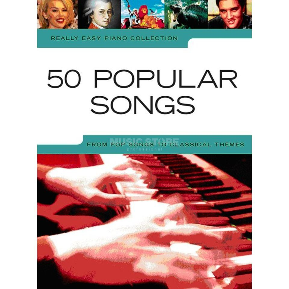 Wise Publications Really Easy Piano: 50 Popular Songs Produktbild