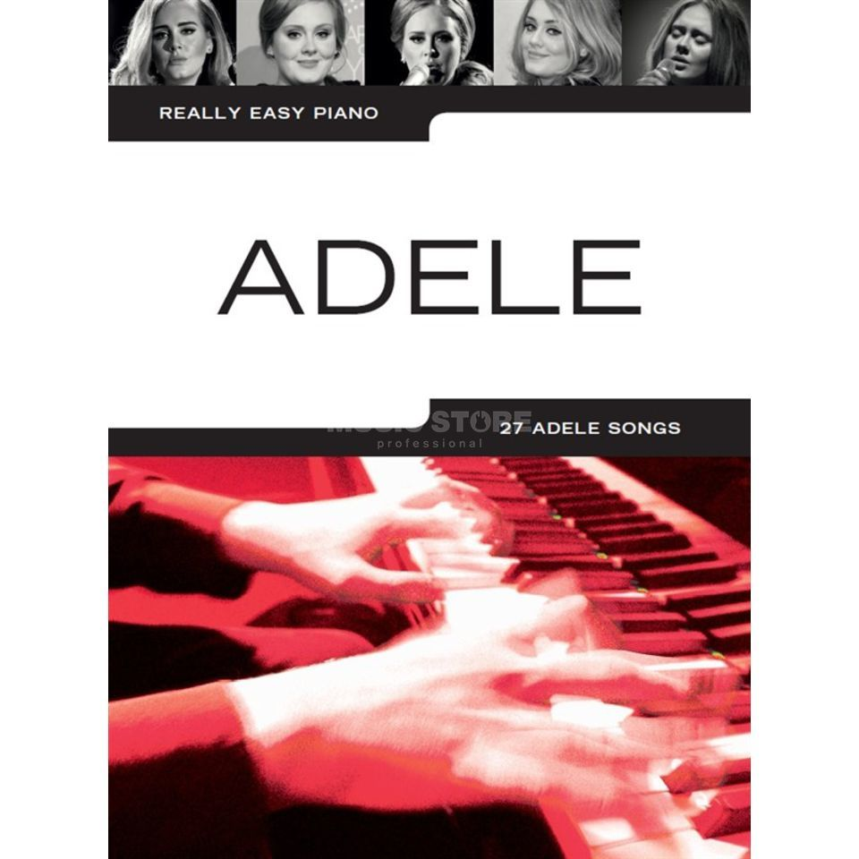 Wise Publications Really Easy Piano: Adele (Updated Edition) Produktbillede