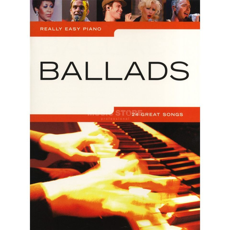 Wise Publications Really Easy Piano: Ballads  Produktbillede