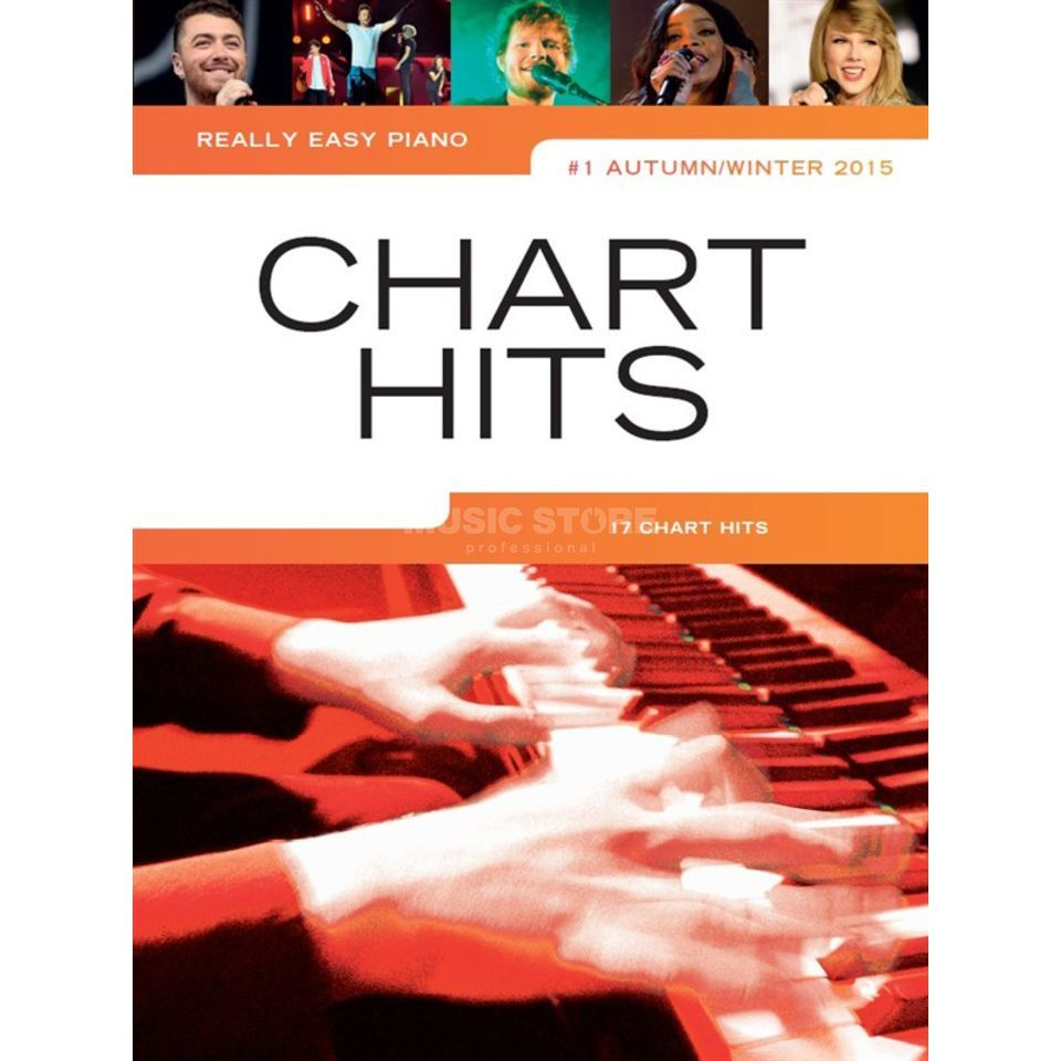 Wise Publications Really Easy Piano: Chart Hits Vol. 1 - Autumn/Winter 2015 Produktbild
