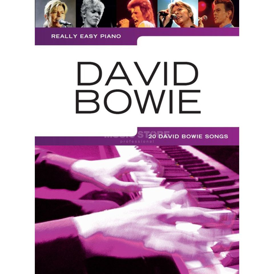 Wise Publications Really Easy Piano: David Bowie Product Image