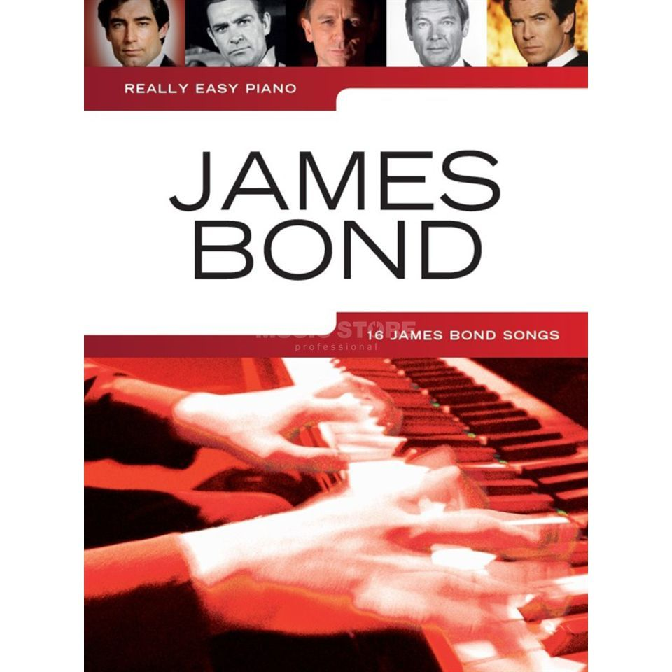 Wise Publications Really Easy Piano: James Bond Imagem do produto