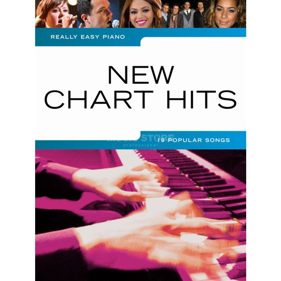 Wise Publications Really Easy Piano: New Chart Hits Produktbillede