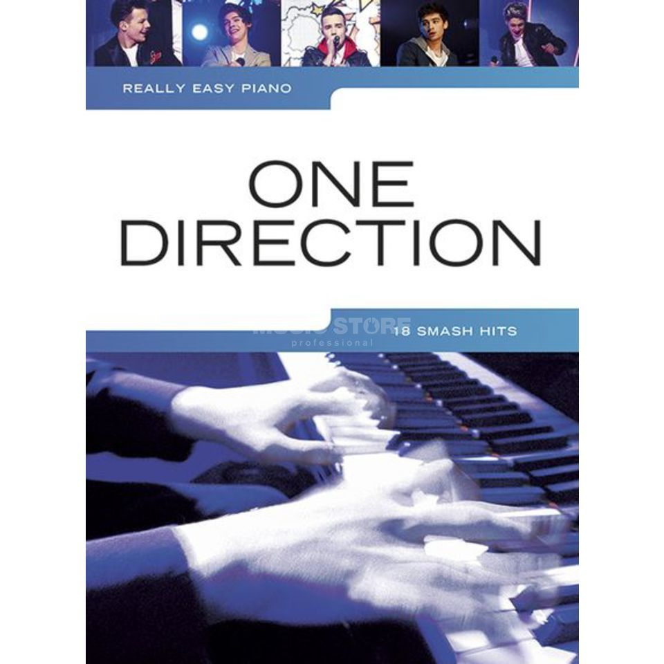 Wise Publications Really Easy Piano: One Direction Produktbild