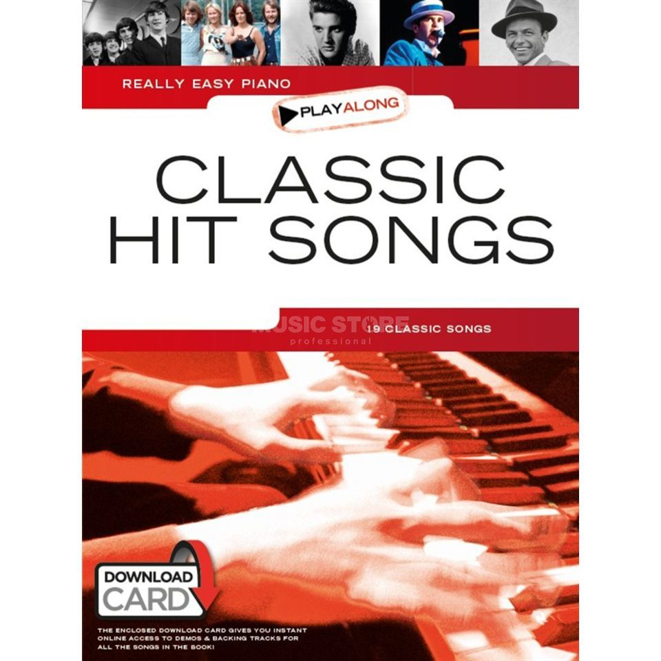 Wise Publications Really Easy Piano Playalong: Classic Hit Songs Produktbild