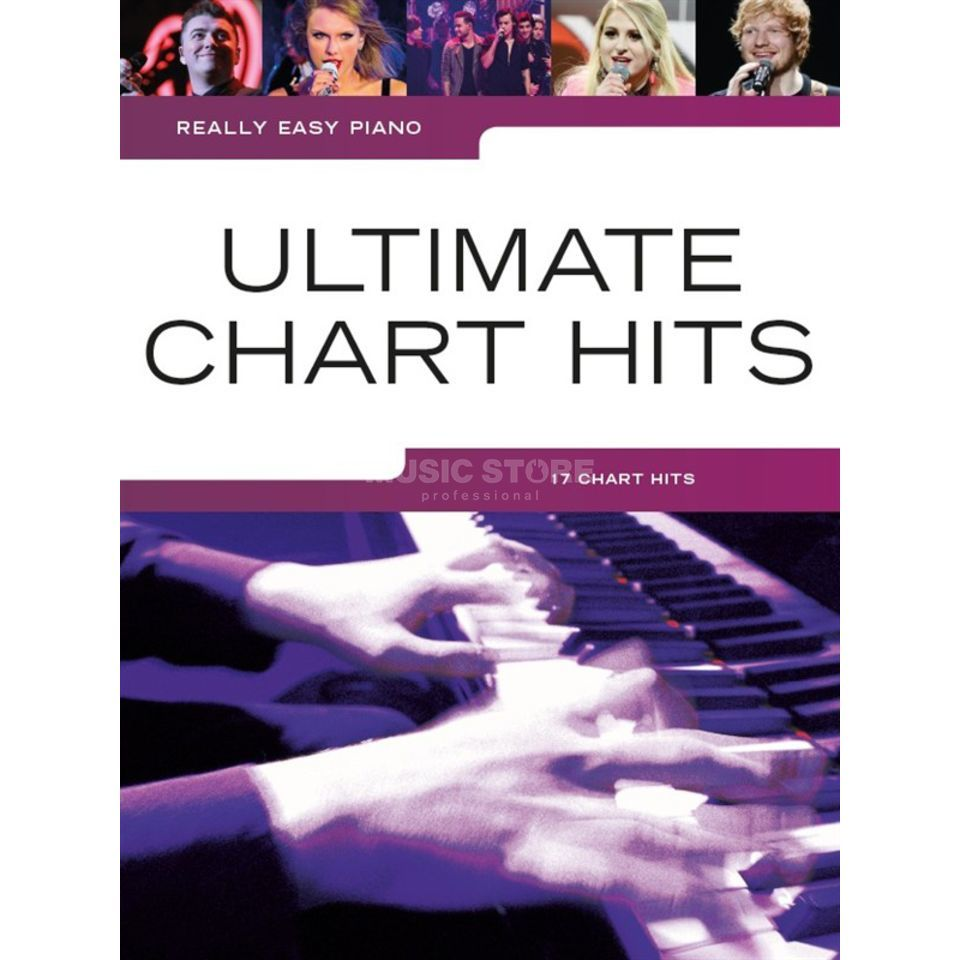 Wise Publications Really Easy Piano: Ultimate Chart Hits Produktbillede