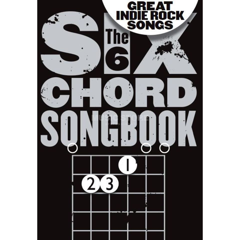Wise Publications Six Chord Songbook: Great Indie Rock Songs Guitar Produktbild