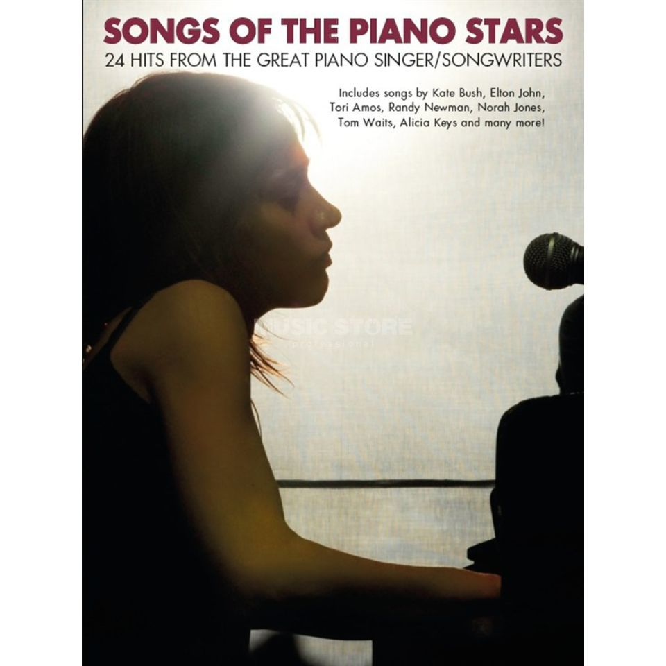 Wise Publications Songs Of The Piano Stars Produktbillede
