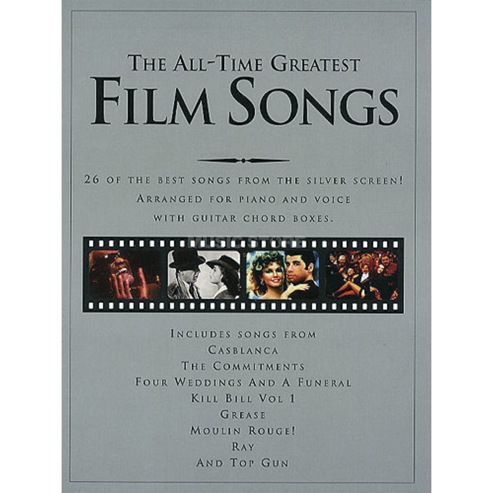 Wise Publications The All-Time Greatest Film Songs Produktbild