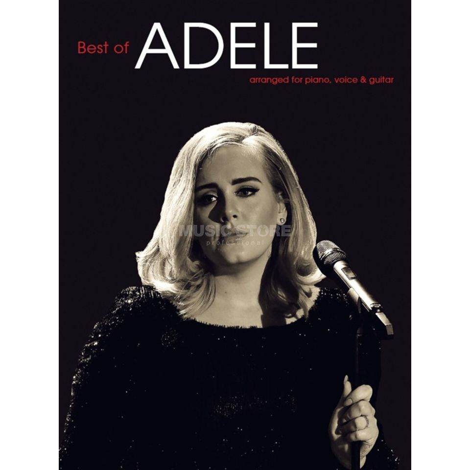 Wise Publications The Best Of Adele Product Image