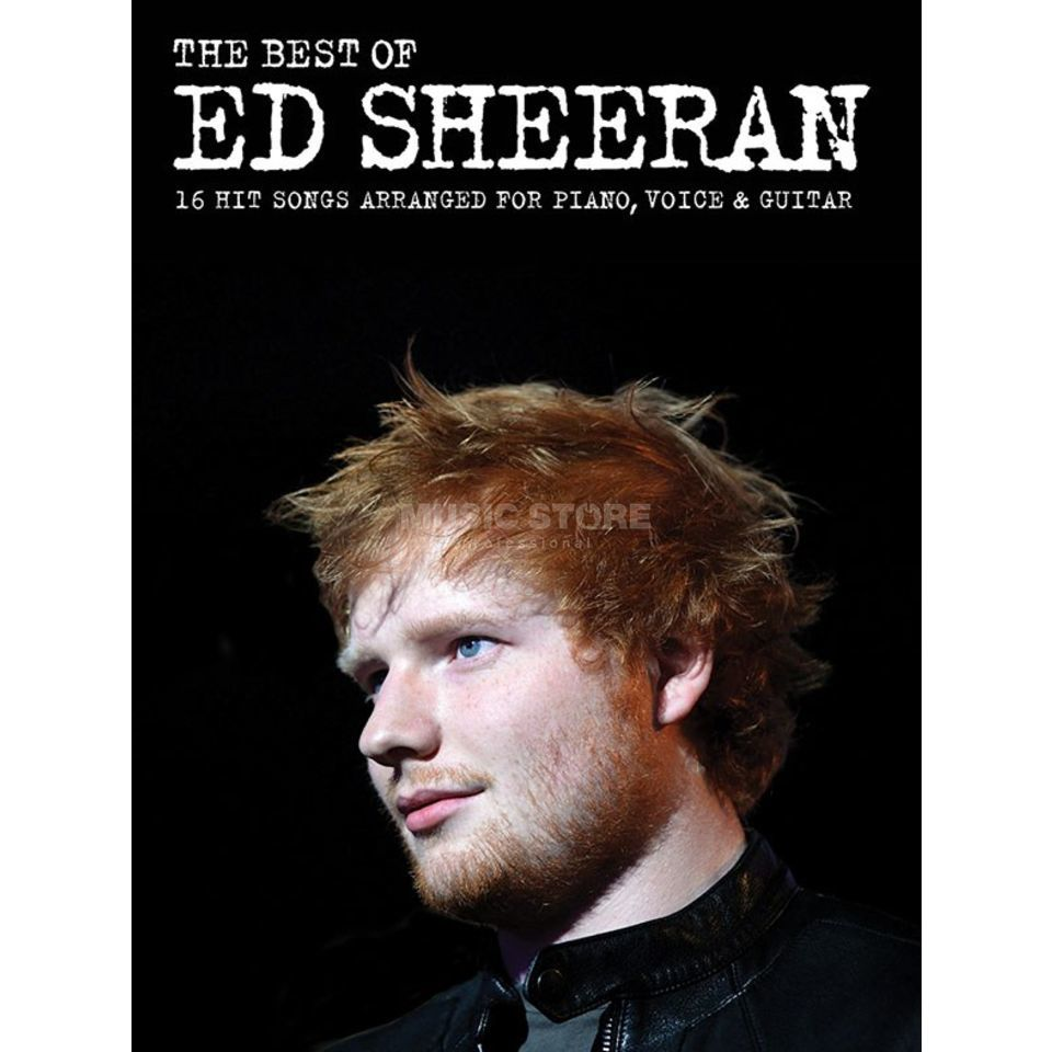 Wise Publications The Best Of Ed Sheeran Produktbillede