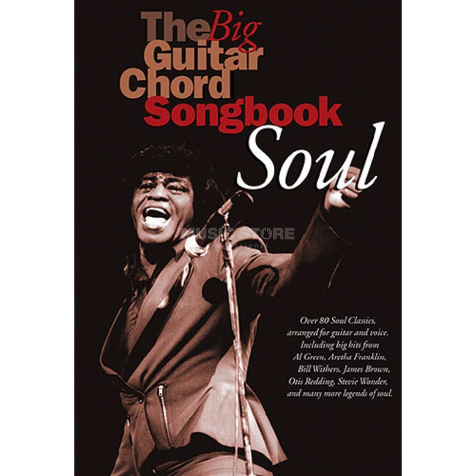 Wise Publications The Big Guitar Chord Songbook: Soul Produktbild