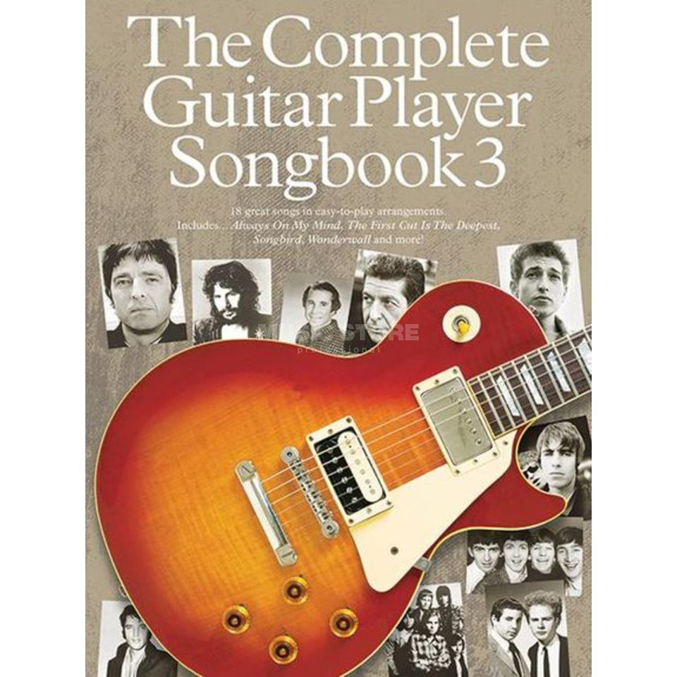 Wise Publications The Complete Guitar Player Songbook 3 - 2014 Edition Produktbillede