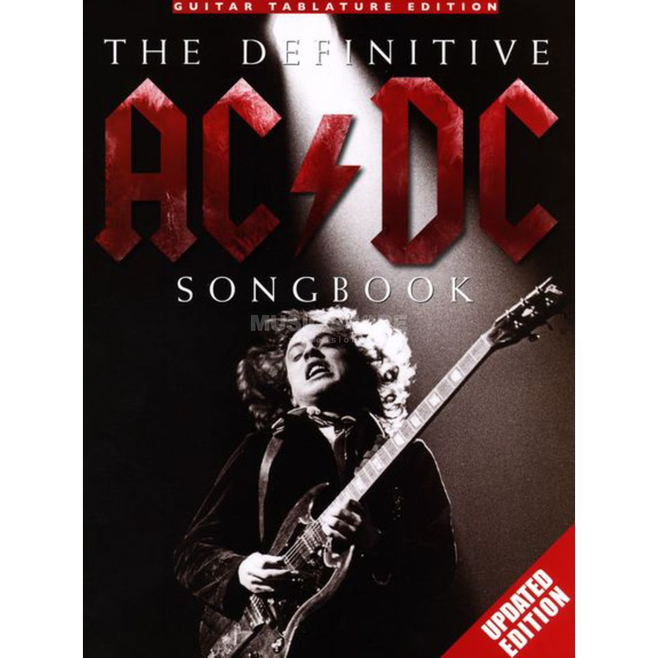 Wise Publications The Definitive AC/DC Songbook - Updated Edition Produktbild
