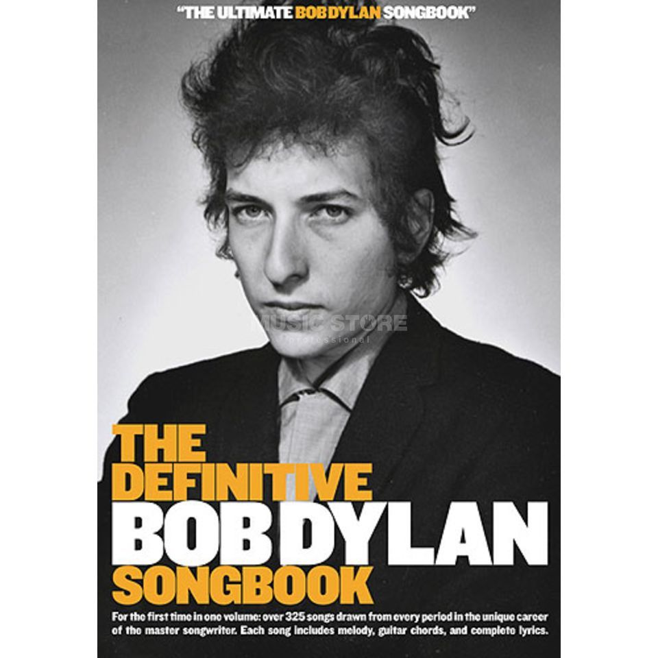 Wise Publications The Definitive Bob Dylan Songbook Produktbillede