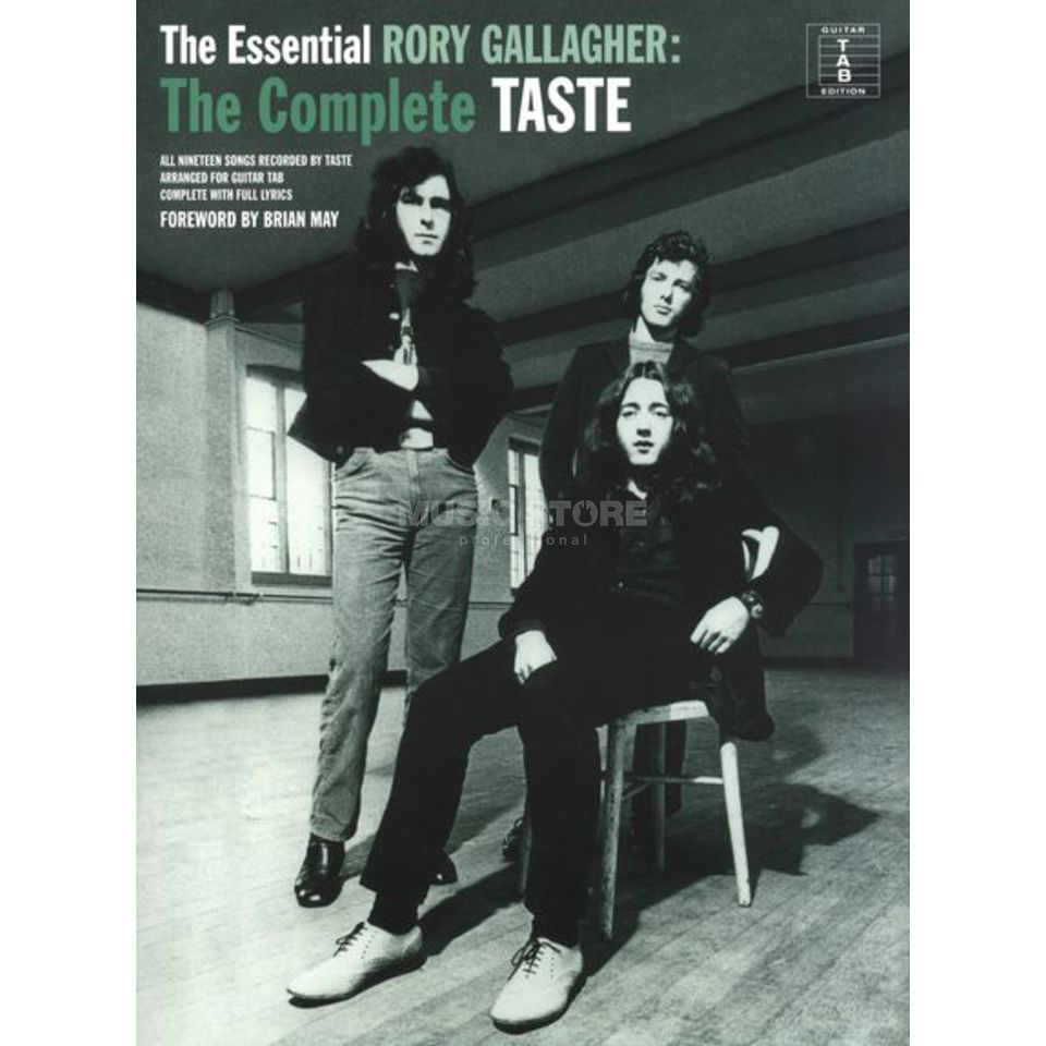 Wise Publications The Essential Rory Gallagher: The Complete Taste TAB Produktbild