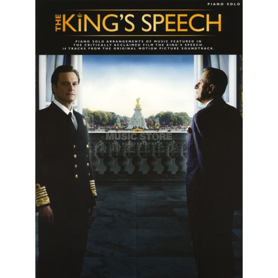 Wise Publications The King's Speech Piano Solo Produktbild