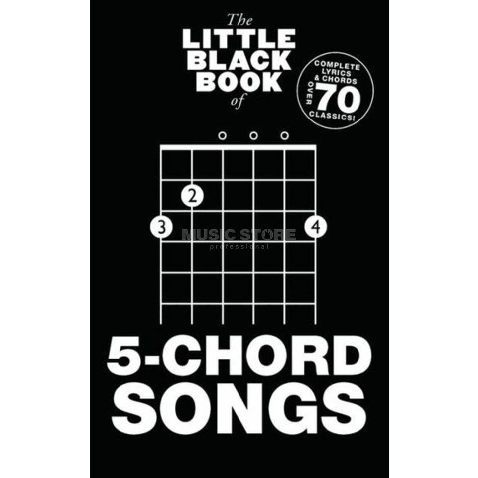 Wise Publications The Little Black Book Of 5-Chord Songs Produktbillede