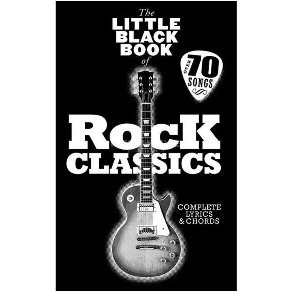 Wise Publications The Little Black Book Of Rock Classics Produktbillede