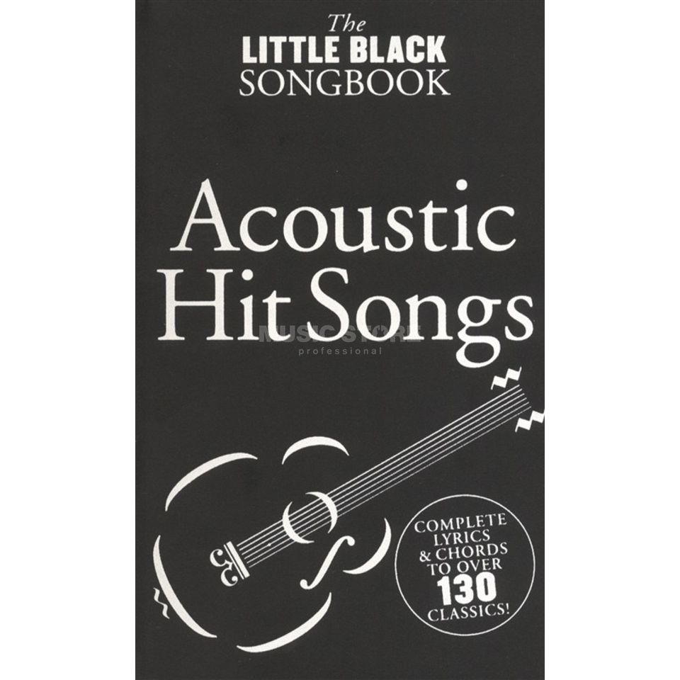 Wise Publications The Little Black Songbook: Acoustic Hits Produktbillede