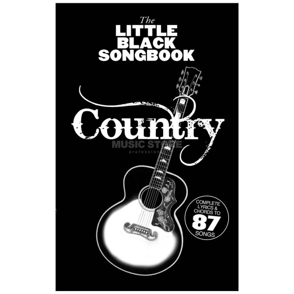 Wise Publications The Little Black Songbook: Country Image du produit
