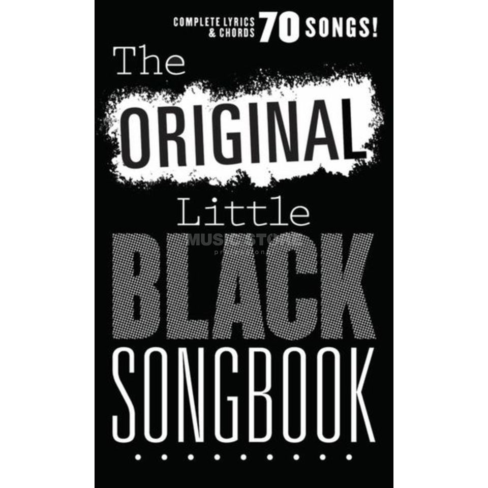 Wise Publications The Original Little Black Songbook Produktbillede