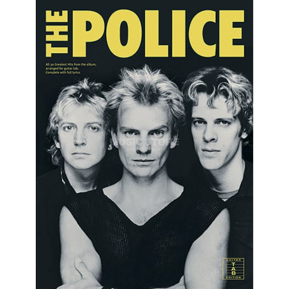 Wise Publications The Police - 30 Greatest Hits TAB Produktbillede