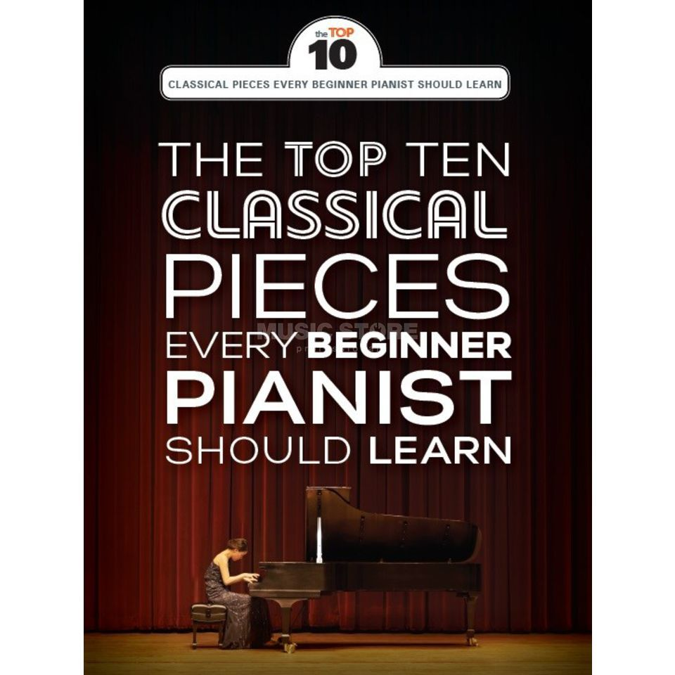 Wise Publications The Top Ten Classical Piano Pieces Every Beginner Should Learn Produktbild