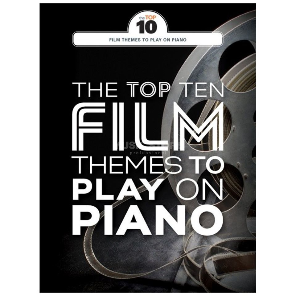 Wise Publications The Top Ten Film Themes To Play On Piano Product Image