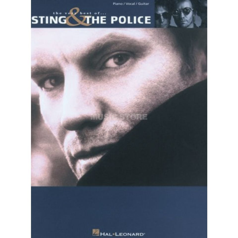 Wise Publications The Very Best Of Sting And Police PVG Produktbild