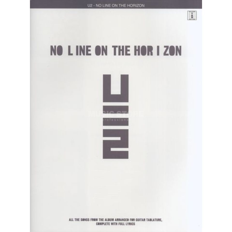 Wise Publications U2 - No Line On The Horizon TAB Produktbillede