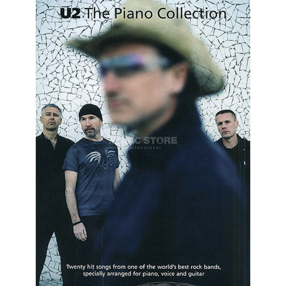 Wise Publications U2 - Piano Collection PVG Produktbillede