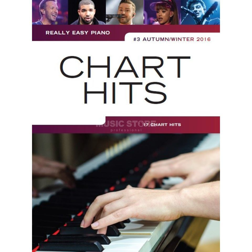 Wise Publications Wise Publications Really Easy Piano: Chart Hits Vol.3 Produktbillede