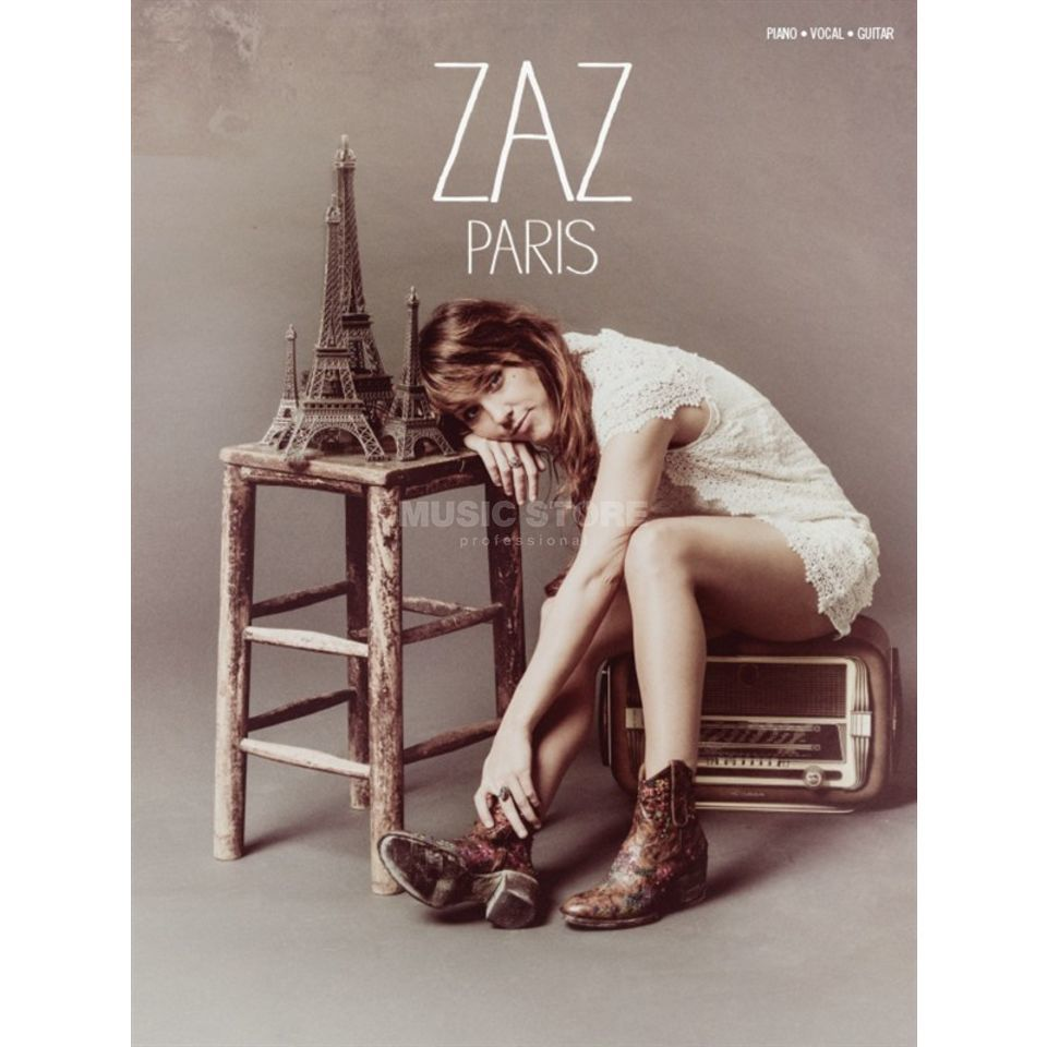 Wise Publications Zaz: Paris PVG Produktbillede