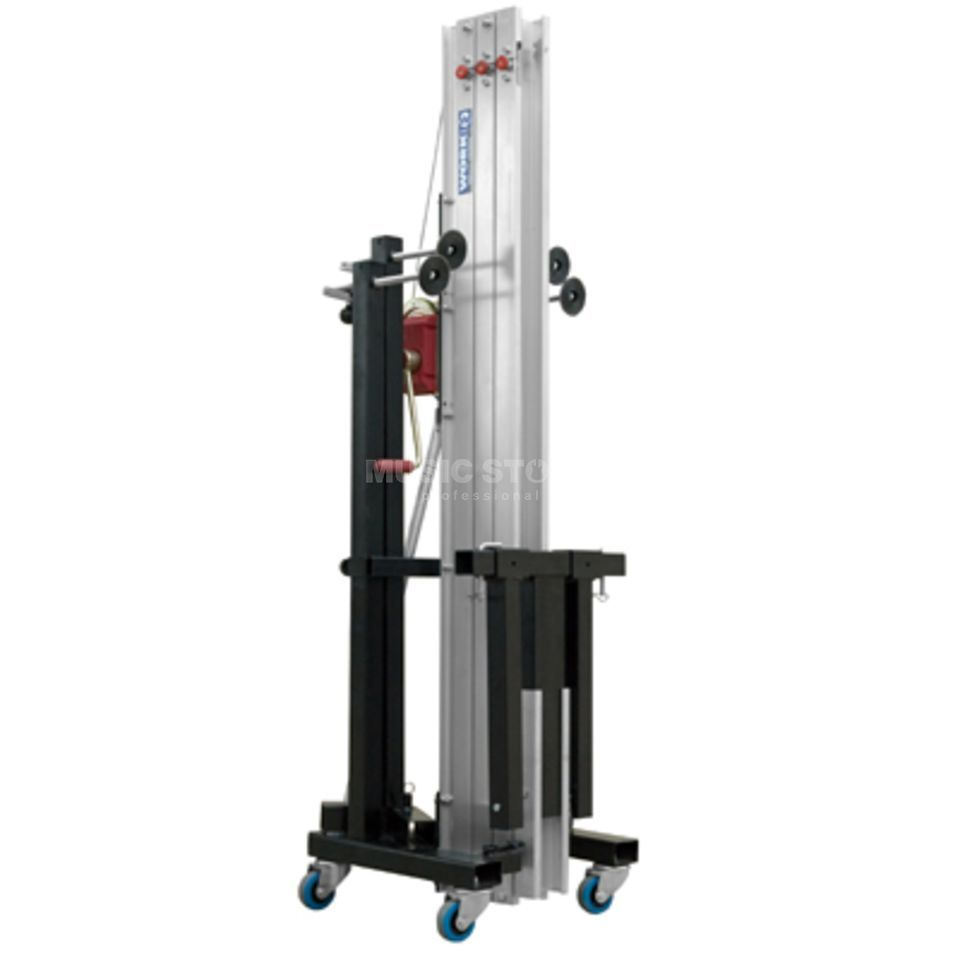 Work LW 415 RB Traversenlift 170 kg, 5,00 m , BGV C1 black Image du produit