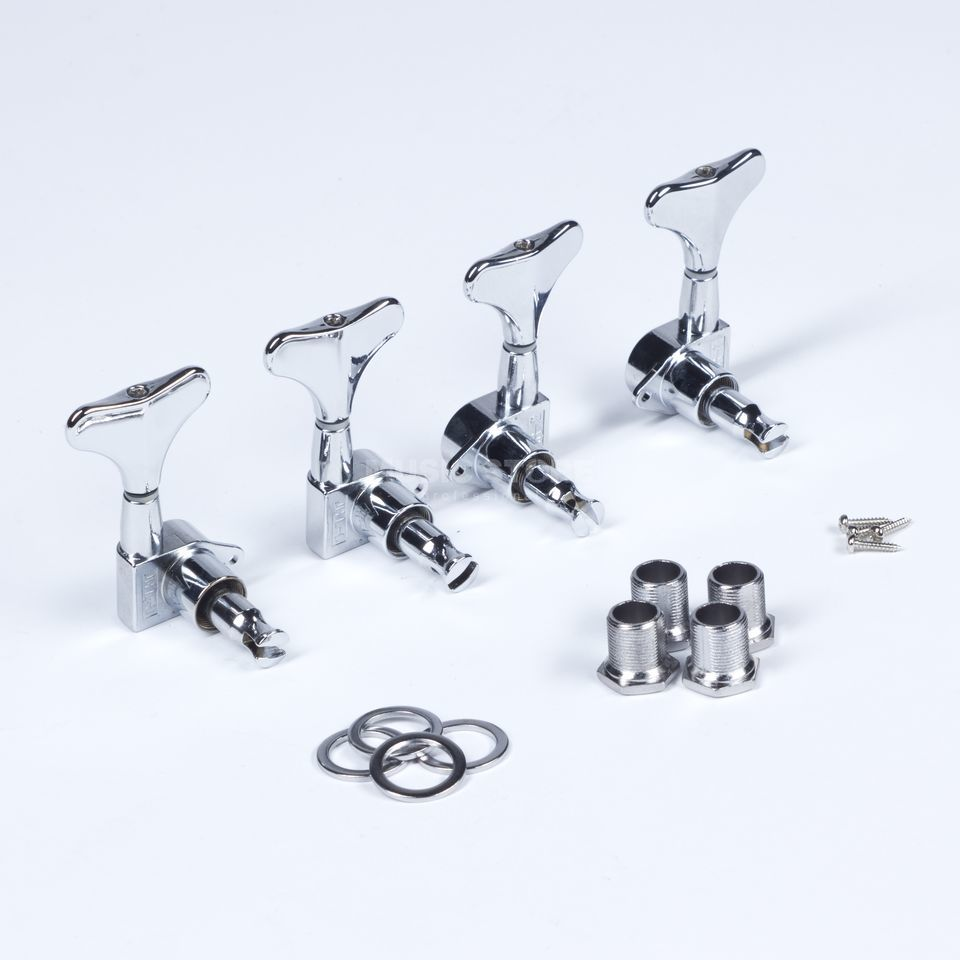 WSC Partsland JB15 Bass Machine Head, Chrom, 2 links 2 rechts Produktbild